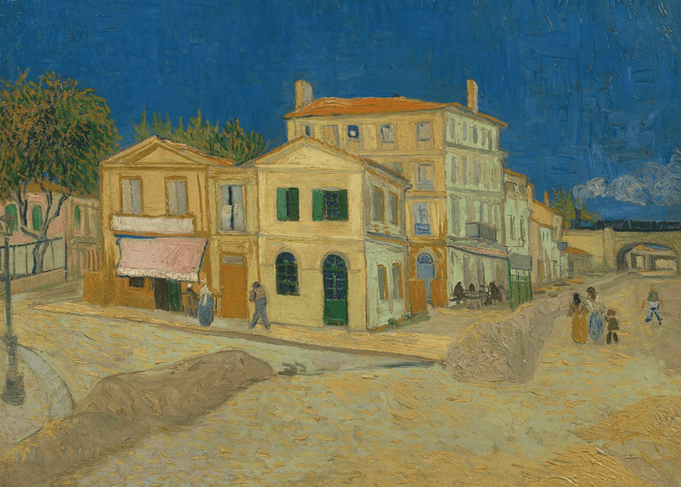 Interesting facts about The Yellow House by Vincent Van Gogh