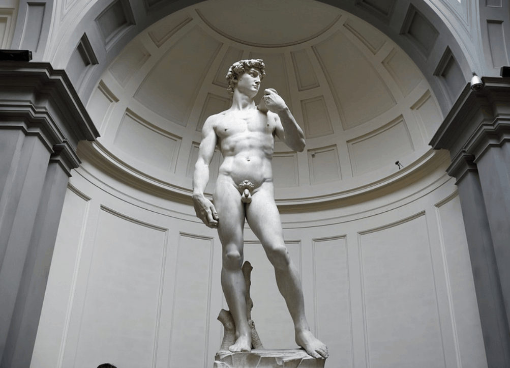interesting facts about the statue of David