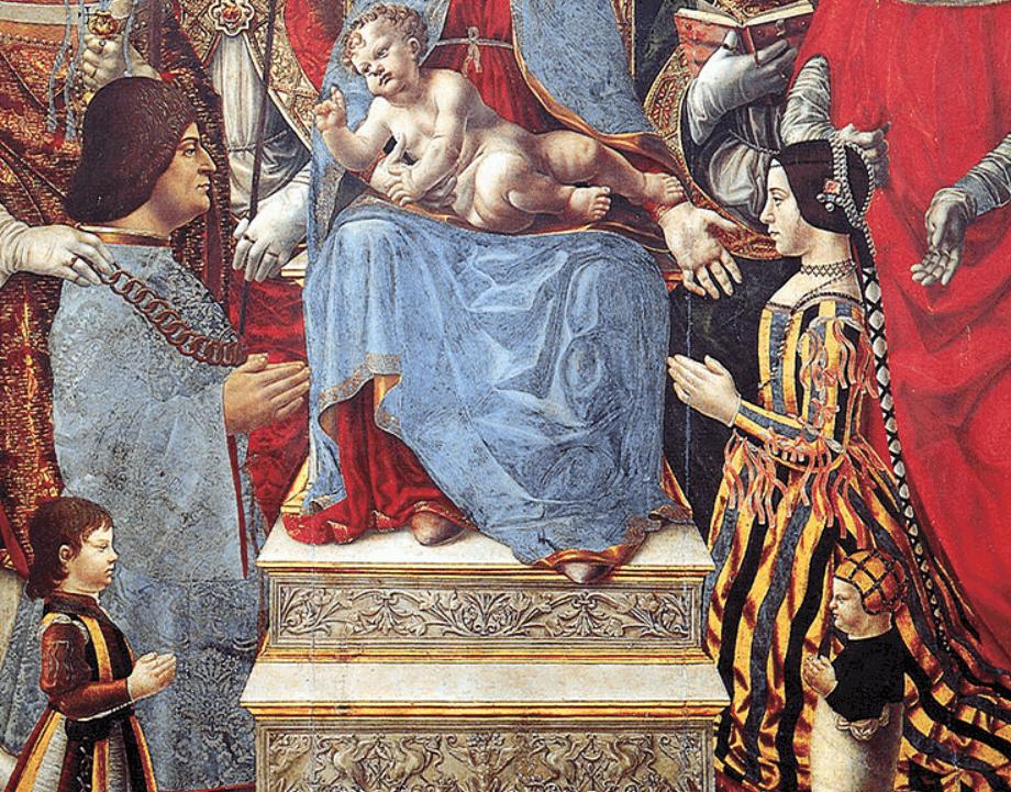 Ludovico Sforza and Beatrice d'este