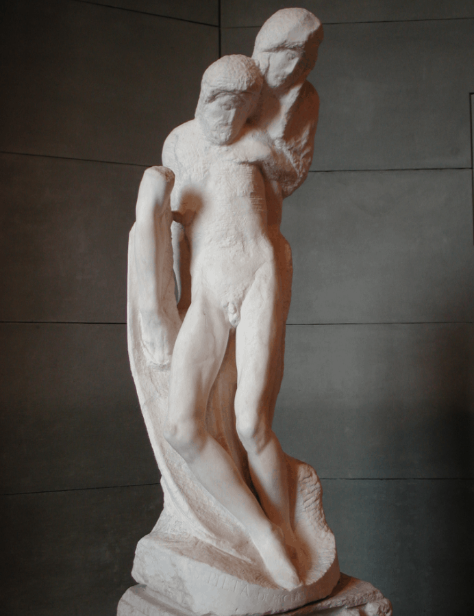 Michelangelo's final sculpture
