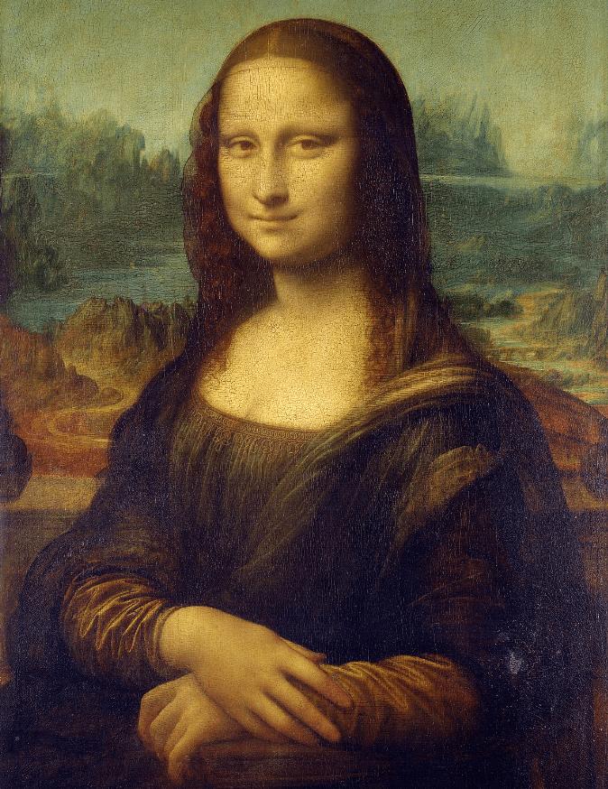 mona lisa famous paintings leonardo da vinci