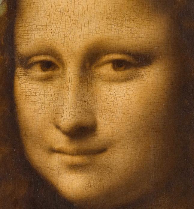 Eyebrows of the Mona Lisa