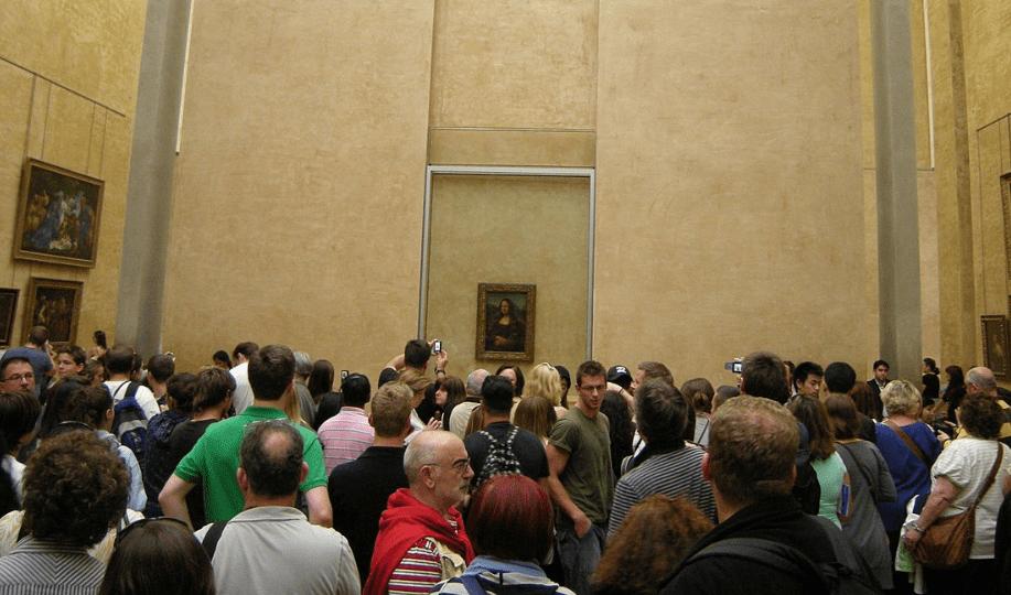 Mona Lisa queue