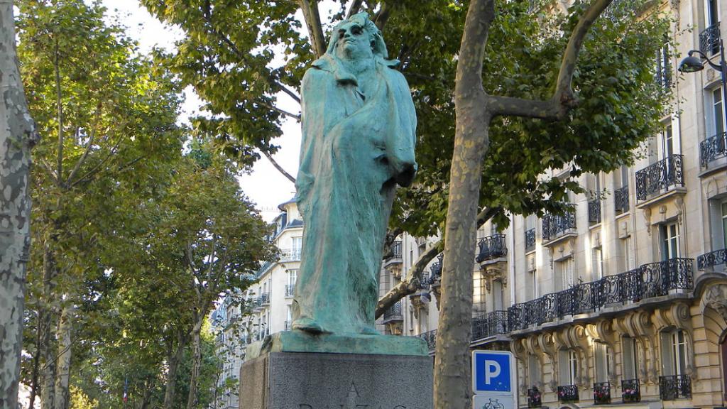 Monument de Balzac Montparnasse