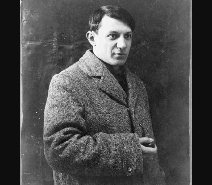 Pablo Picasso in 1908