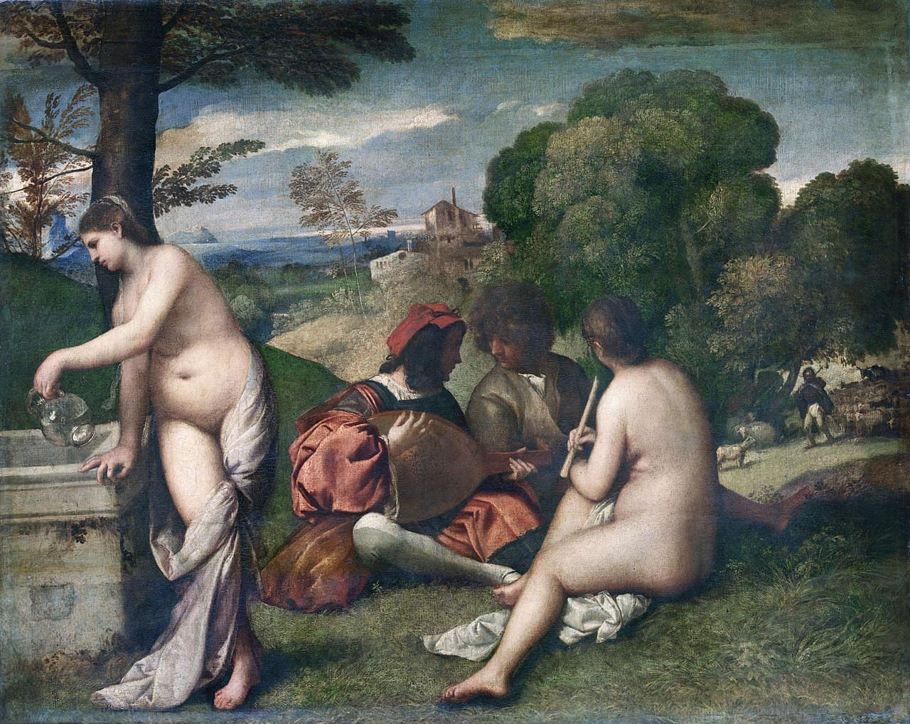 Pastoral Concert by Titian