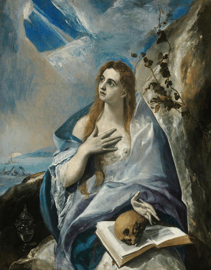 Penitent Magdalene el Greco
