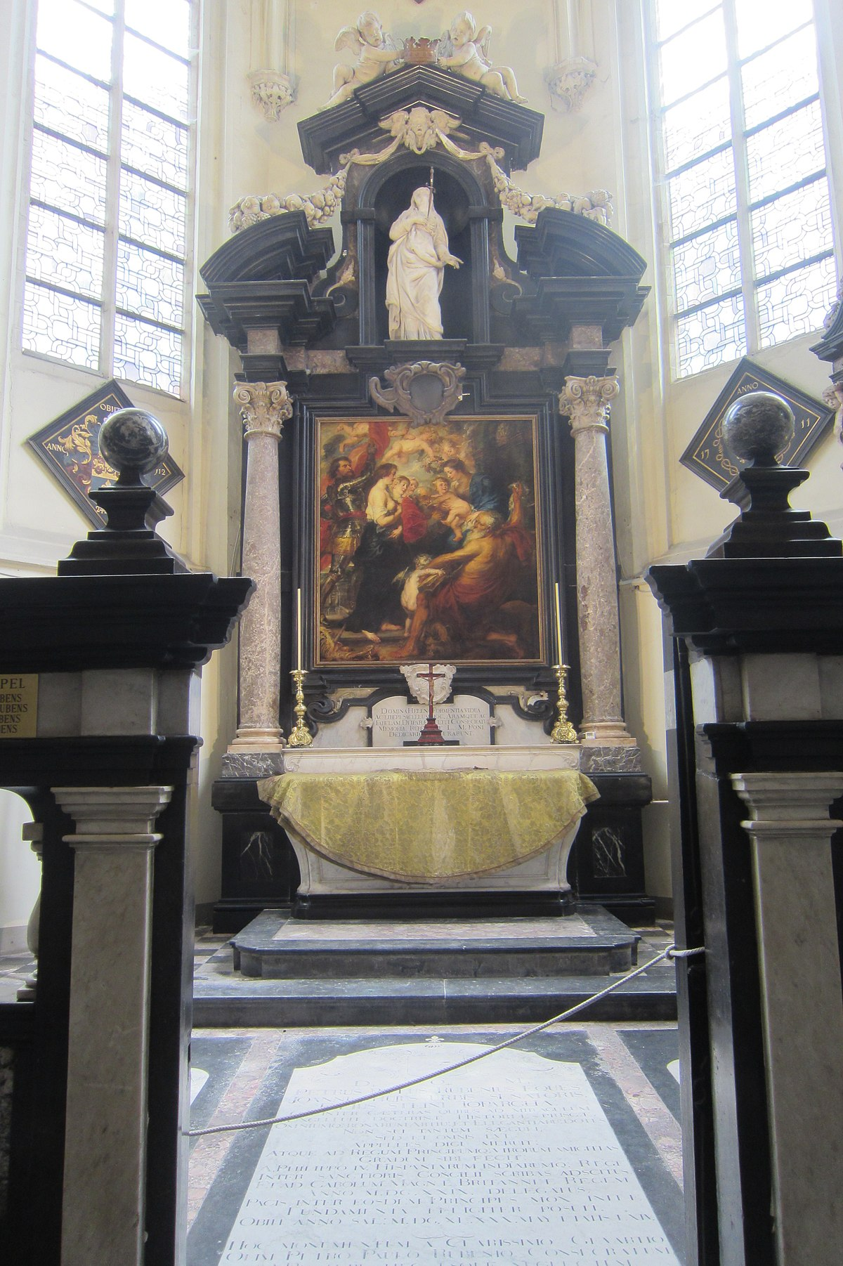 Tomb of Peter Paul Rubens