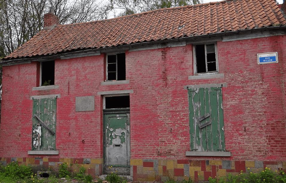 Van Gogh's house in Belgium
