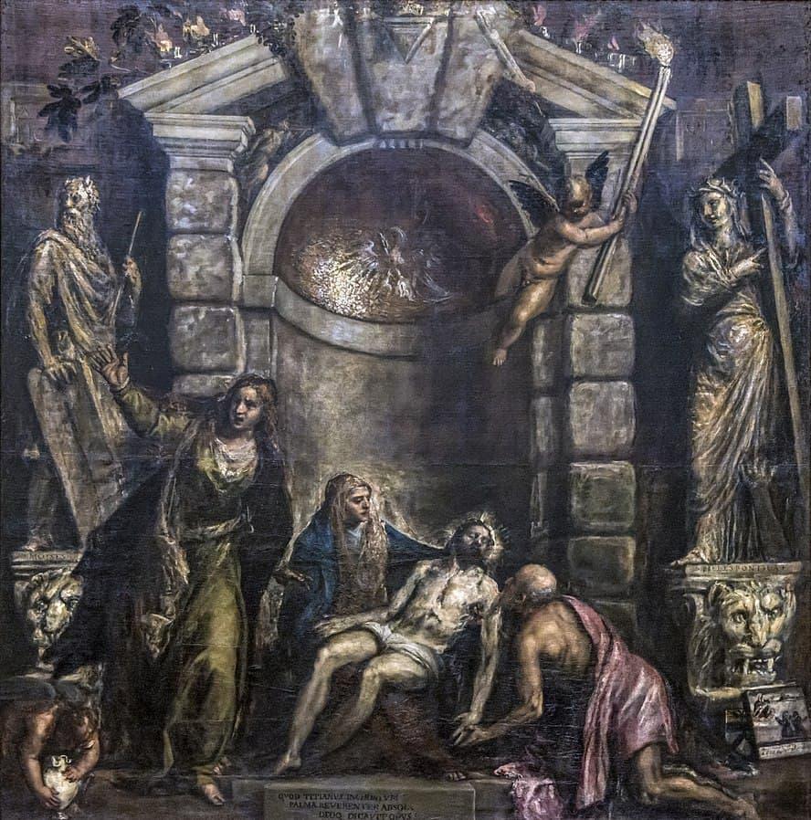 Pietà by Titian