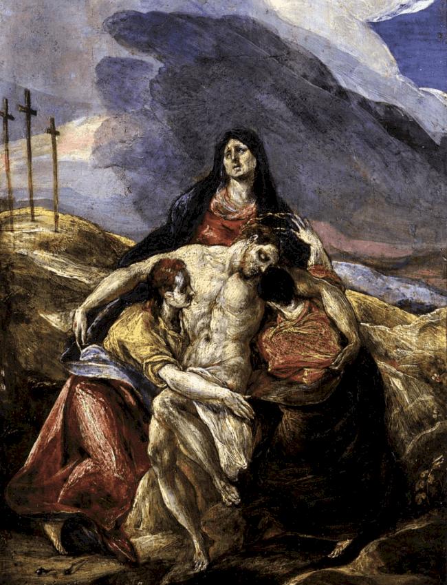Pietà El Greco