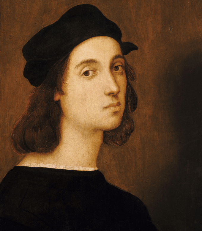Portrait of Raphael