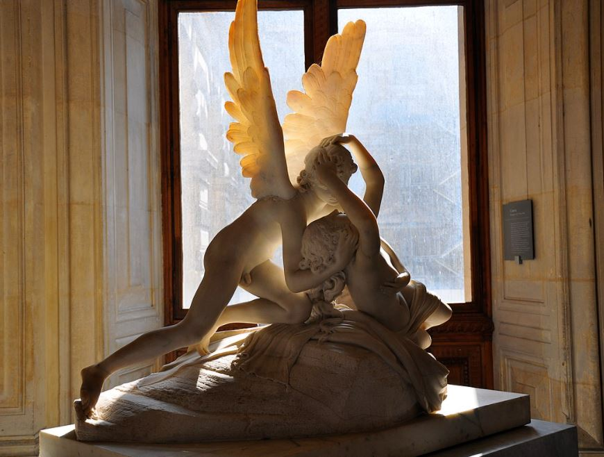 psyche and cupid first version louvre