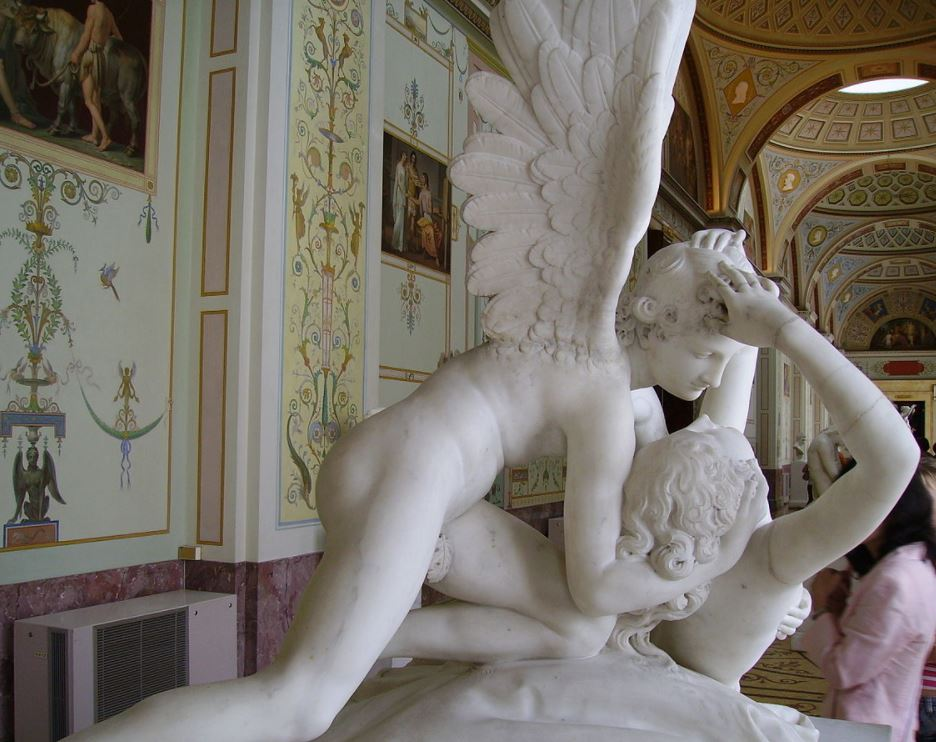 psyche and cupid hermitage museum
