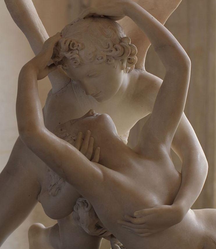 psyche awakened by cupid