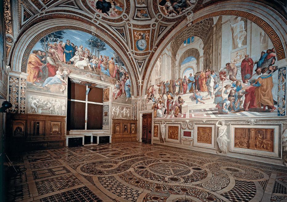 Raphael Rooms School of Athens