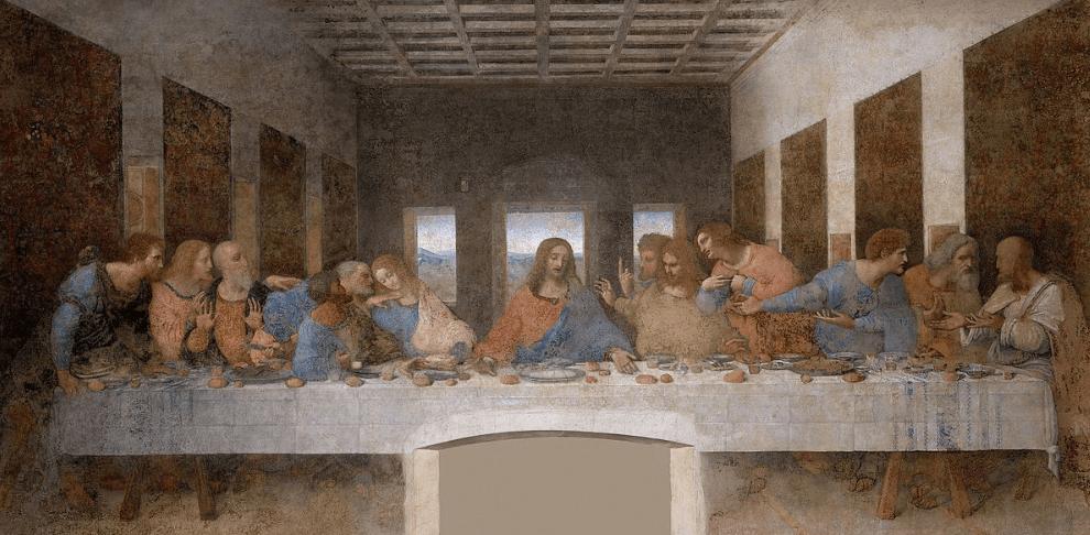 the last supper leonardo da vinci famous paintings