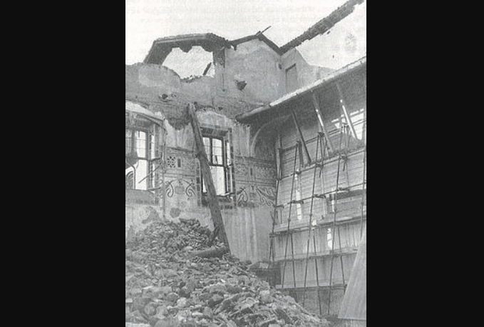 result of the bombing in 1943