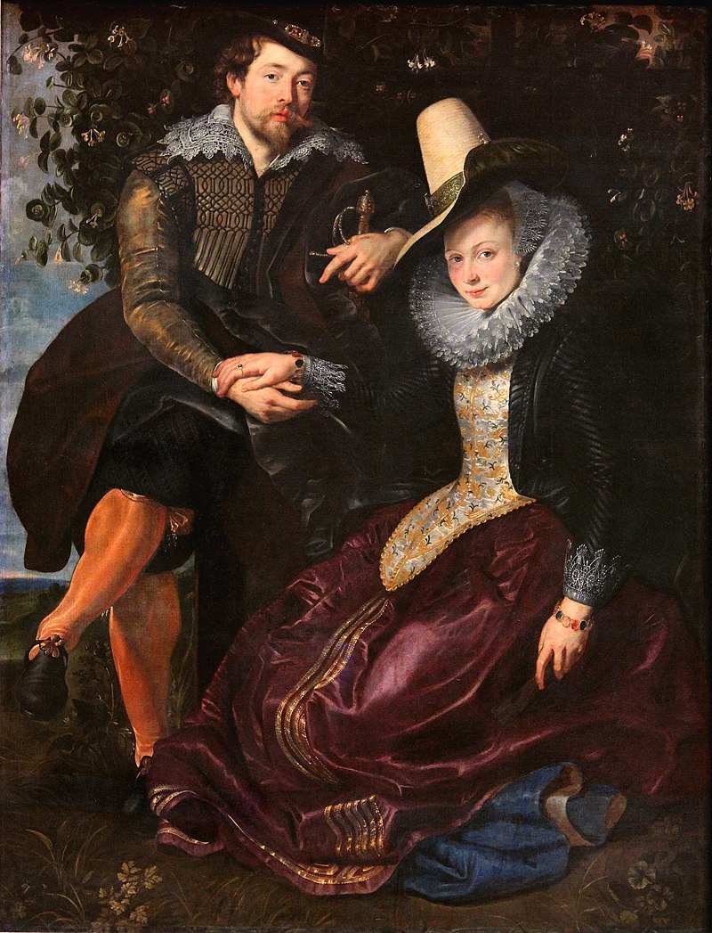Rubens and Isabella Brant in 1609