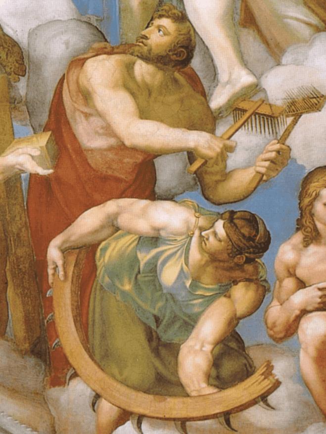 Saint Blaise and Saint Catherine, the decent version
