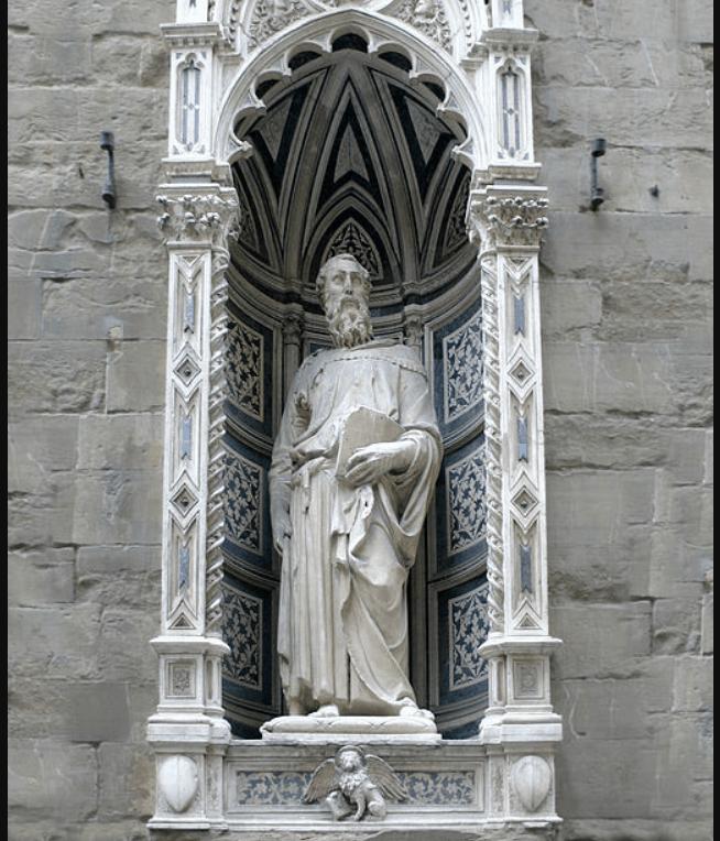 Saint Mark donatello
