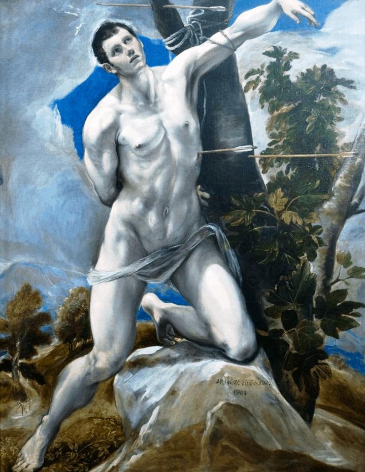 Saint Sebastian El Greco