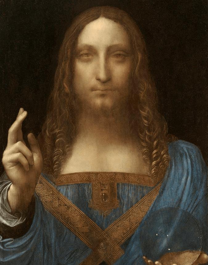 salvator mundi leonardo da vinci most famous paintings