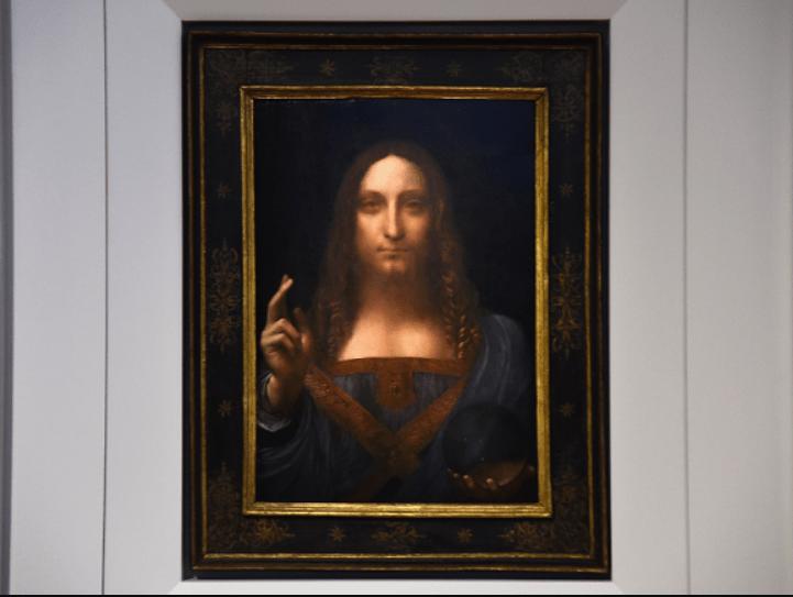 Salvator Mundi painting leonardo da vinci