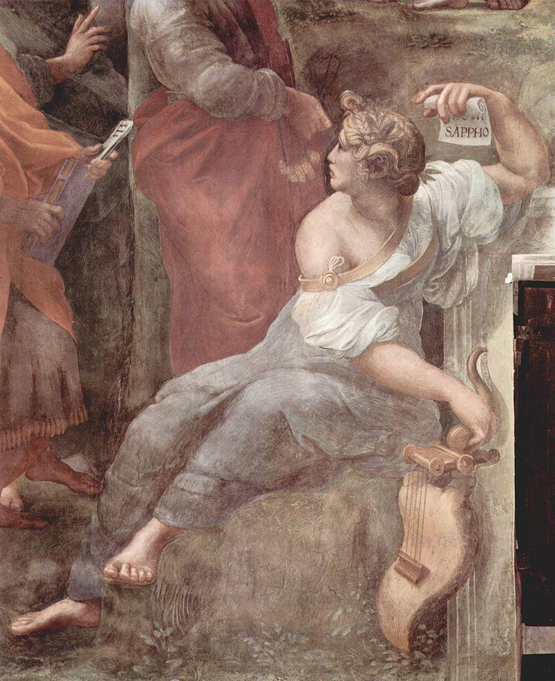 Sappho in the Parnassus