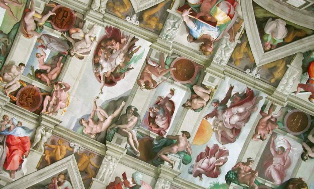 sistine wall ceiling