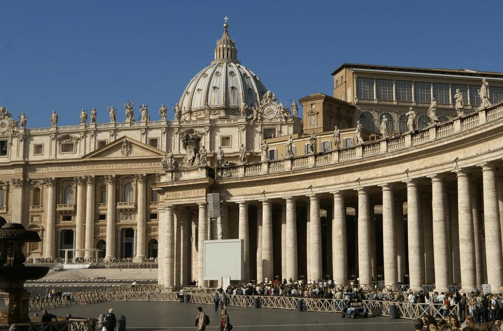 St Peter's Square columns
