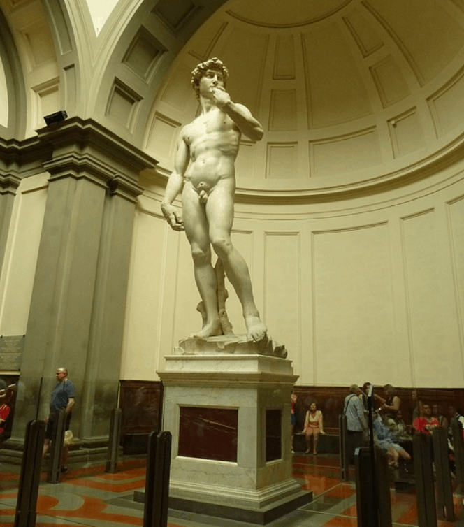 Statue of David facts interesting