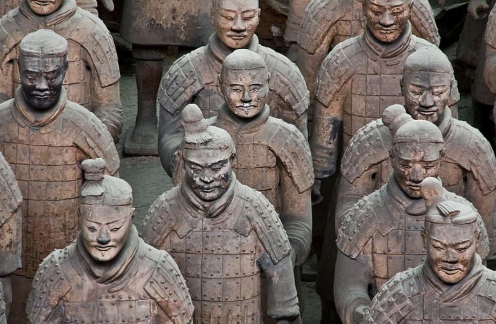terracotta statues china