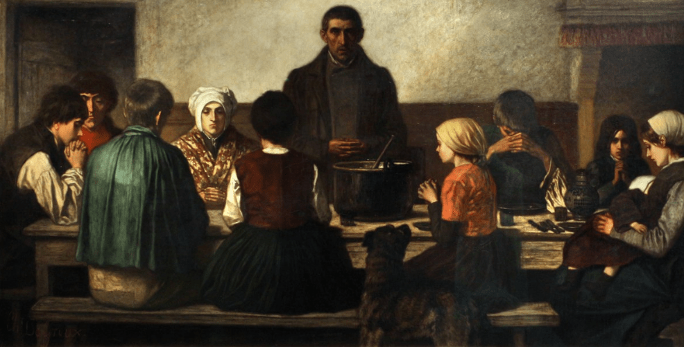 The Blessing Charles de Groux