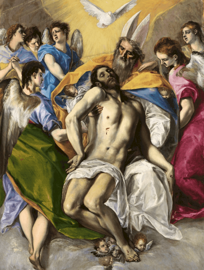 The Holy Trinity El Greco