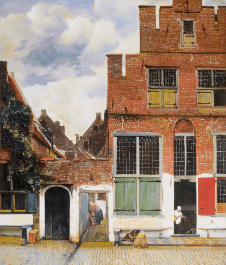 The Little Street by Vermeer