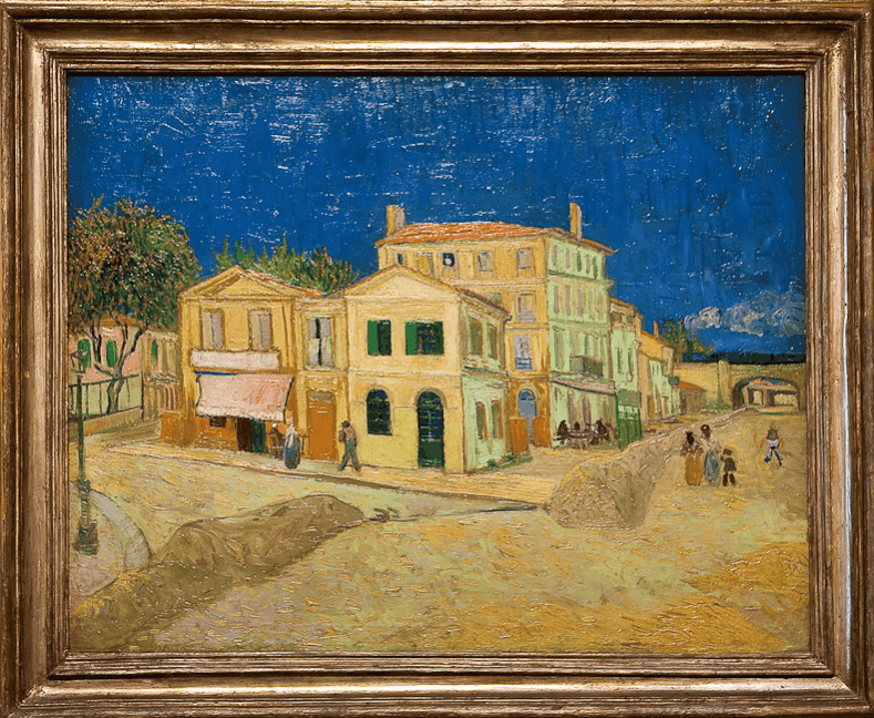 The yellow house in museum