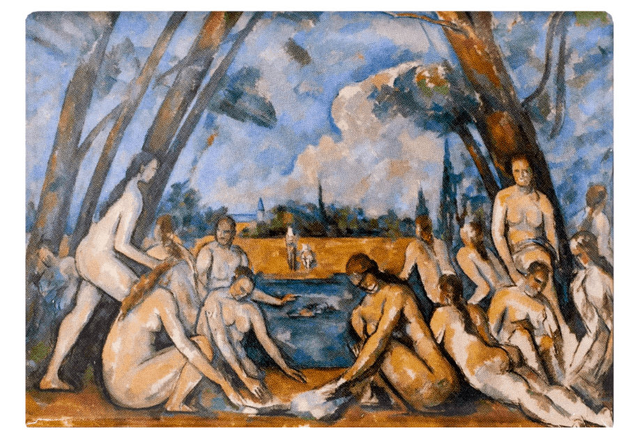 The large bathers cézanne Philadelphia Museum Of Art
