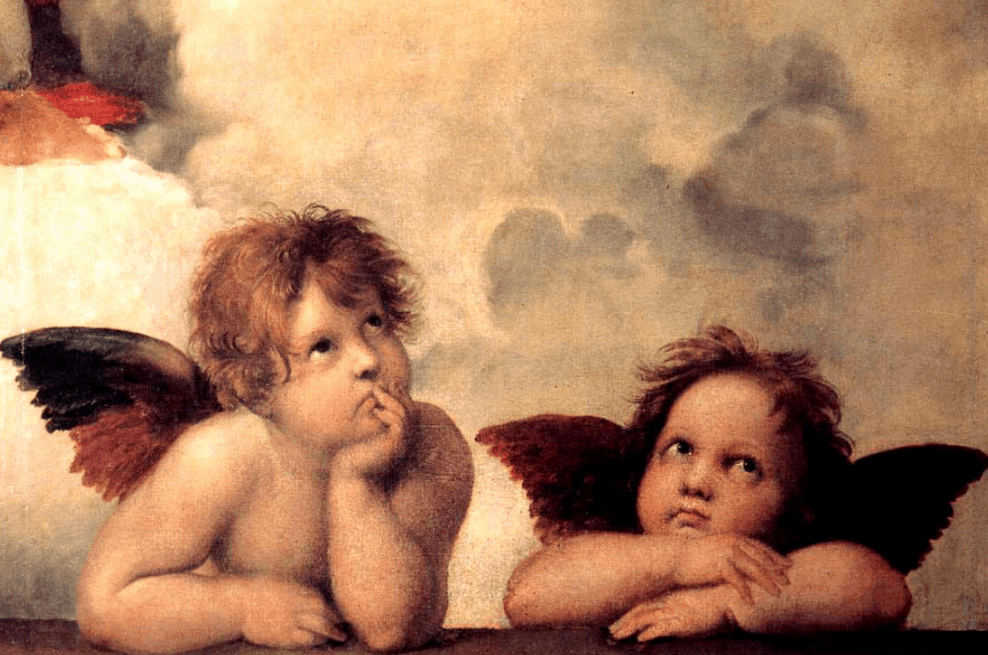 two famous angles facts about the sistine madonna