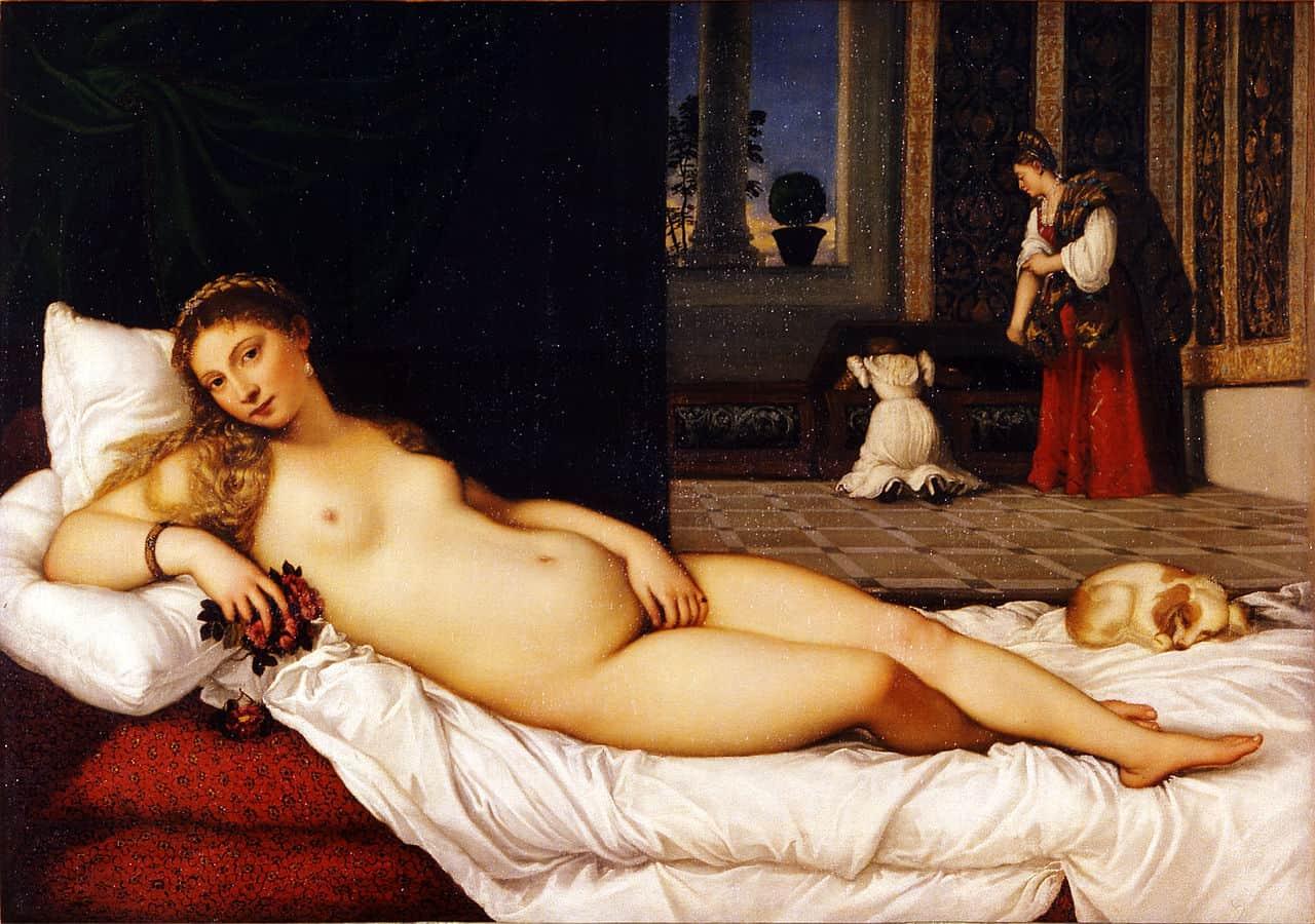 Venus of Urbino famous paintings by Titian