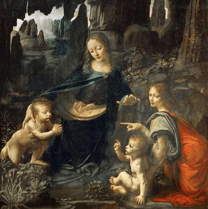 virgin of the rocks leonard da vinci