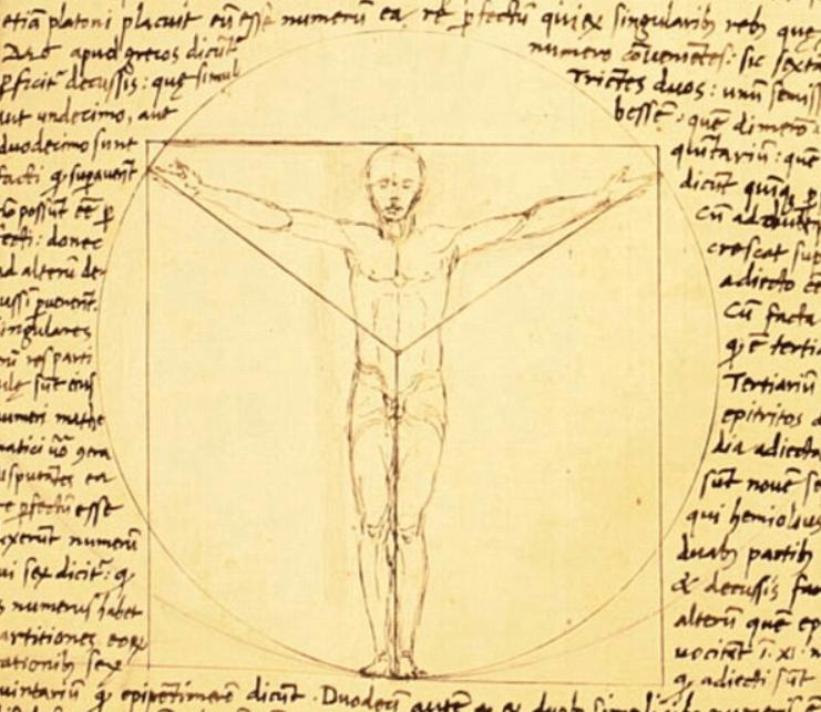 Vitruvian Man prototype by Andrea