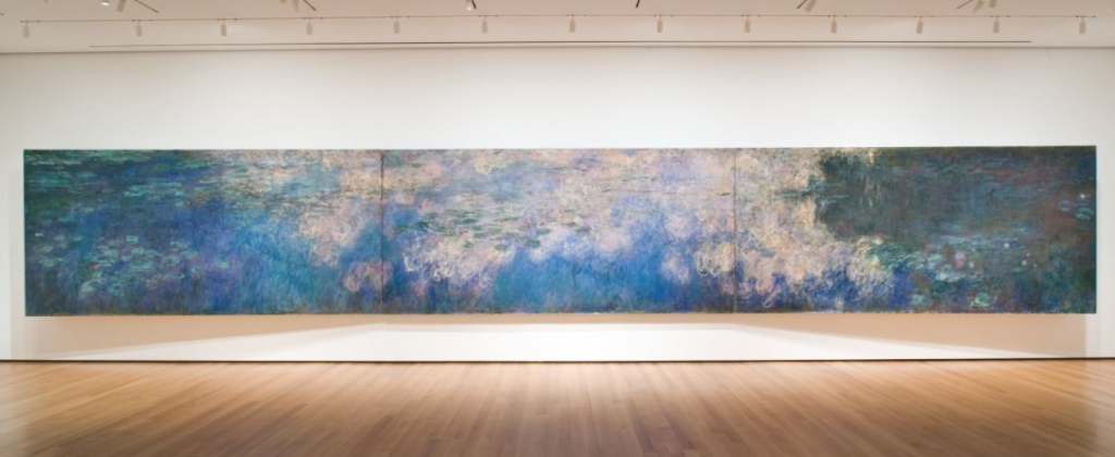 most valuable paintings in museums - Water Lilies Claude Monet New York Metropolitan Museum Of Art