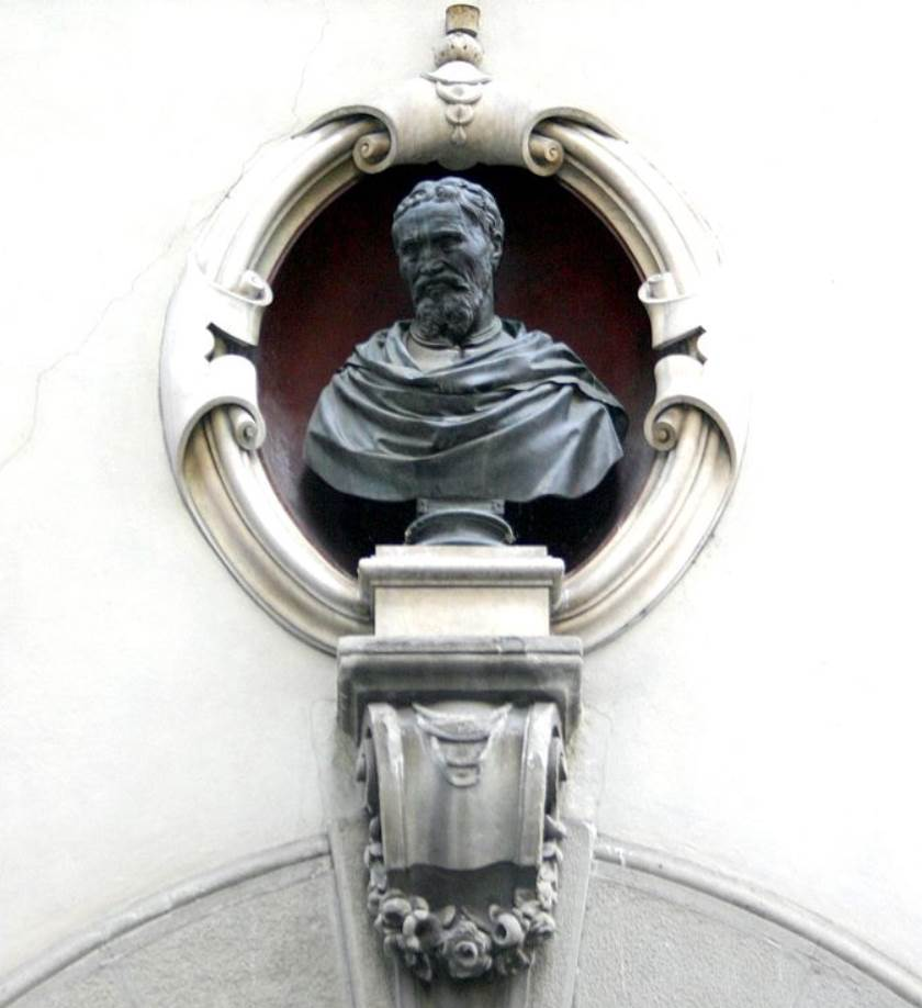 Bust of Michelangelo Casa Buonarroti