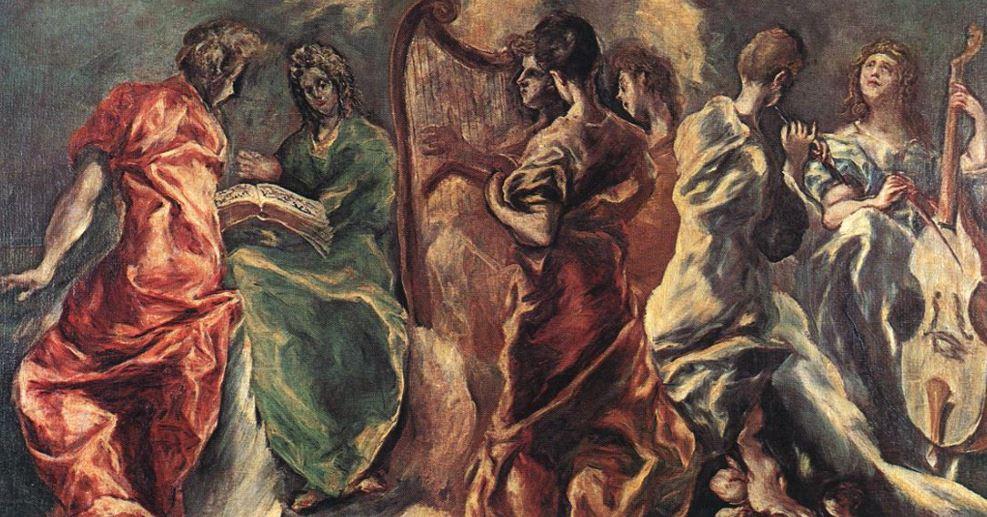 Concert of angels el greco
