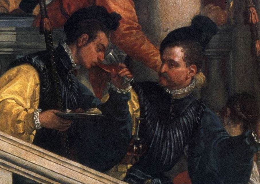 Feast at the house of levi drunken soldiers