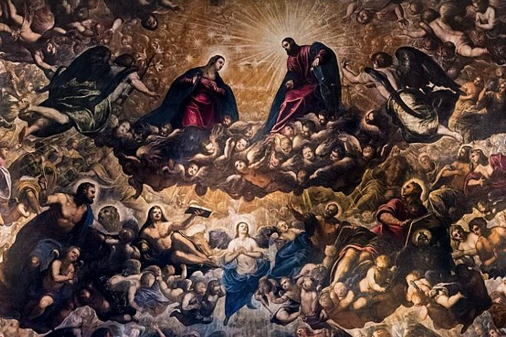 Il Paradiso Jesus Christ central part