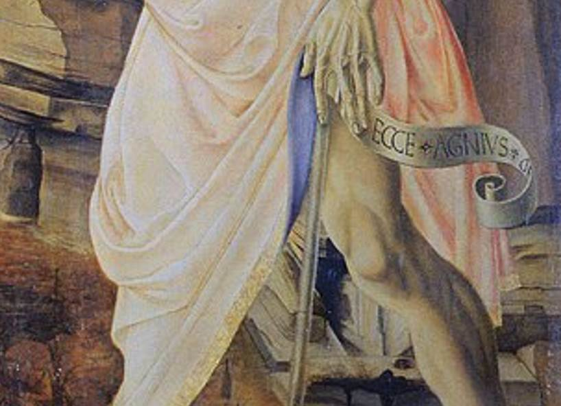 John the baptist scroll