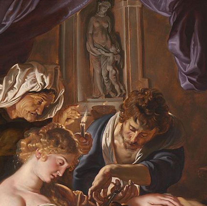 Samson and Delilah rubens details