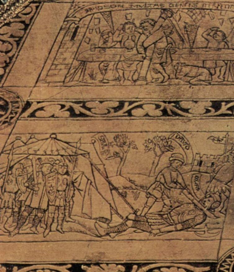 The annunciation van eyck tiles